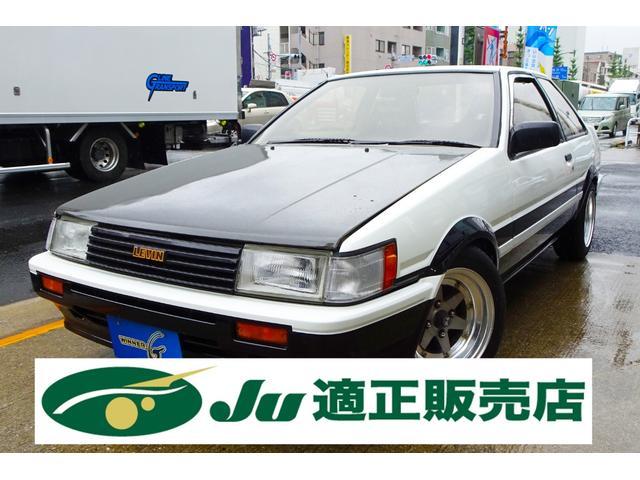 トヨタ GT APEX ロンシャンXR-4  カーボンボンネット