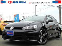 VW ゴルフRベースグレード DCC ディスカバープロ ACC 黒革シート