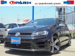 VW ゴルフRベースグレード フルセグ付ナビ ACC 黒革シート DCC