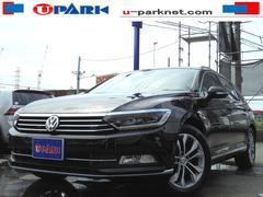 VW パサートヴァリアントTSIハイライン ブラックレザーシート ディスプロ ACC