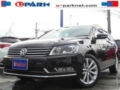 VW パサートヴァリアントTSIハイライン BMT フルセグ付SDナビ 黒革シート