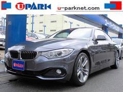 BMW420iクーペ スポーツ 赤革ACC NEWiDriveナビ