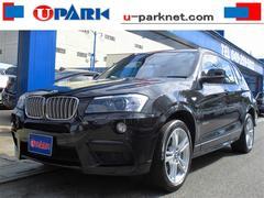 BMW X3xDrive28i MスポーツP Hレザー iDriveナビ