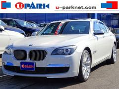 BMW740i コンフォートPプラスPKG SR 黒革 Cソナー