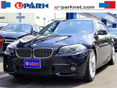 BMW528i TRW Mスポーツpkg 黒革 直6エンジン