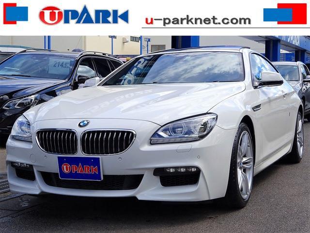 BMW 640iクーペ Mスポーツpkg SR LEDライト スマK