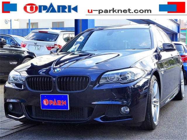 BMW 528i TRW Mスポーツpkg SR 黒革 OP19AW