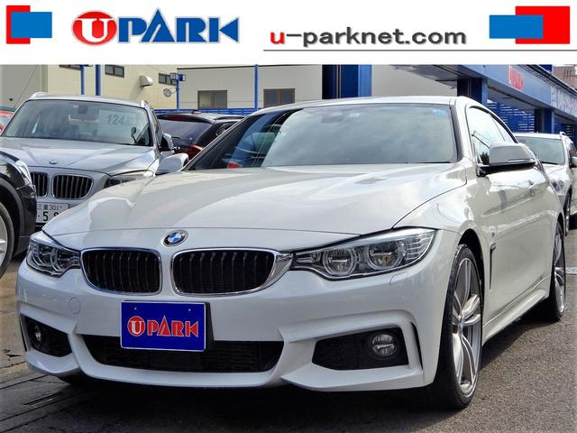 BMW 420iクーペMスポーツ 赤革 ACC LED OP19AW