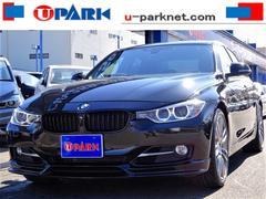 BMW320iスポーツ 1オナ 黒革 パドルシフト OP19AW