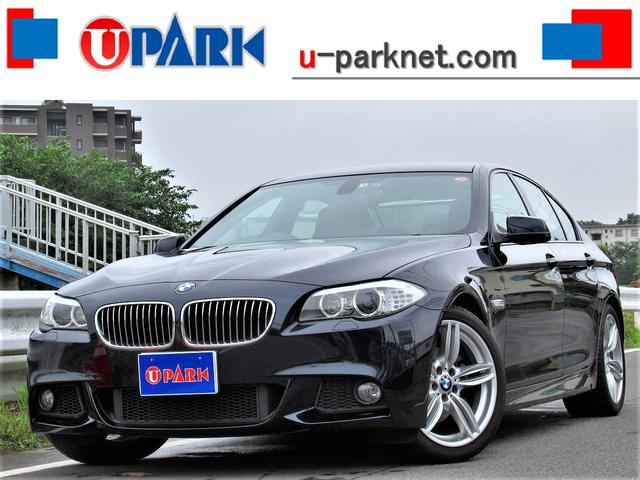 BMW 5シリーズ 523i Mスポーツpkg 茶革 OP19AW パドルシフト
