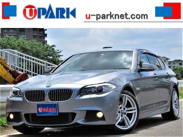 BMW 5シリーズ 528i Mスポーツpkg 黒革 OP19AW パドルシフト