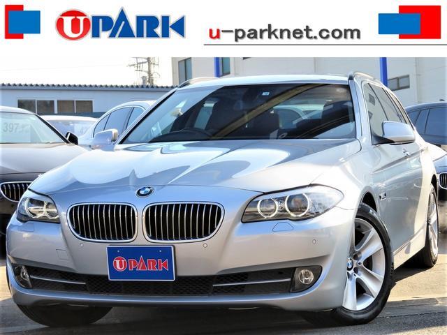BMW 5シリーズ 528iツーリング ハイラインPKG・1オーナー・黒革・iDriveナビ・DTV・Bカメラ・クルコン・HIDライト・スマキー・ETC・BTオーディオ・AUX・Pシート・シートヒーター・本革ステア・記録簿