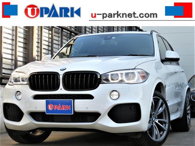 BMW X5 xDrive 35d Mスポーツ セレクトPKG・SR・茶革・ACC・インテリS・HUD・OP20AW・全周囲カメラ・NewiDriveナビ・PバックD・オートクロージャー・Cソナー・パドルシフト・HID・全席シートヒーター・記録簿