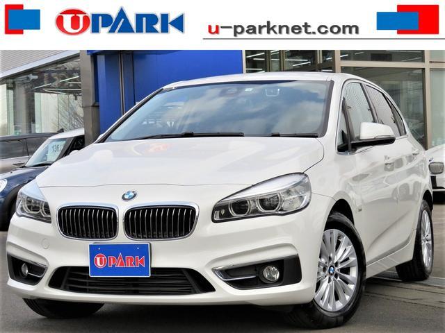 BMW 218dアクティブツアラー ラグジュアリー セーフティPKG・黒革・ACC・インテリS・HUD・スマキー・Pバックドア・LDW・NewiDriveナビ・Bカメラ・DTV・ETC・Cソナー・LEDライト・シートヒーター・オートワイパー・記録簿