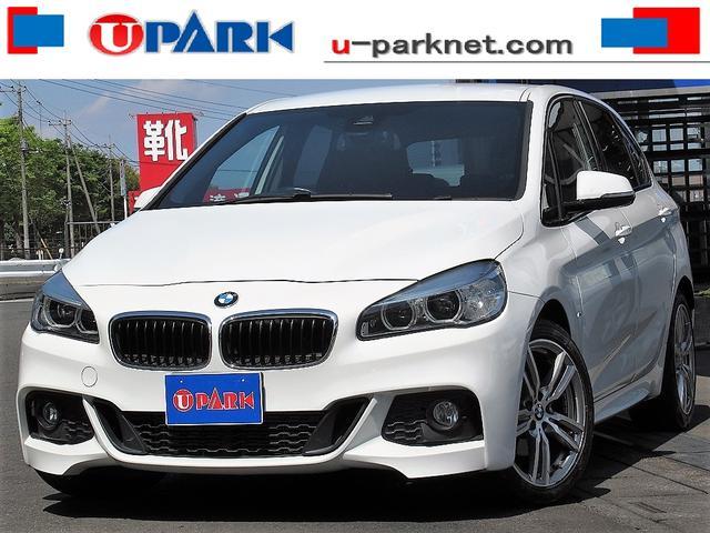 BMW 218dアクティブツアラー Mスポーツ インテリS・NewiDriveナビ・Bカメラ・コンフォートアクセス・OP18AW・LED・ETC・Cソナー・電動リアゲート・オートワイパー・BTオーディオ・DVD・MSV・USB・AUX・記録簿
