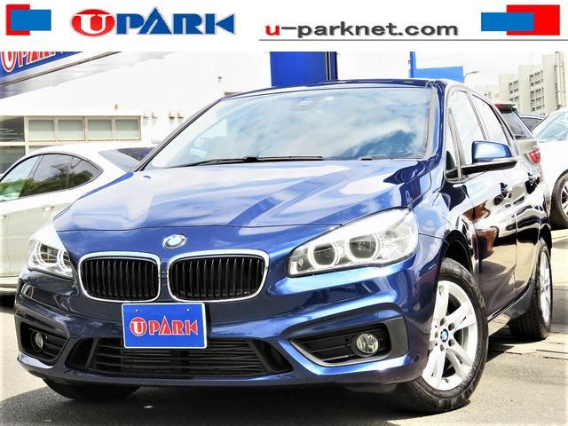 BMW 218dアクティブツアラー セーフティPKG・ACC・HUD・NewiDriveナビ・Bカメラ・DTV・スマキー・Cソナー・ETC・Pバックドア・LEDライト・BTオーディオ・AUX・USB・LDW・アイドリングストップ・記録簿