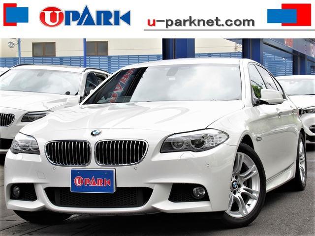 BMW 528i Mスポーツパッケージ 黒革・iDriveナビ・Bカメラ・DTV・クルコン・HIDライト・Cソナー・スマキー・パドルシフト・シートヒーター・BTオーディオ・AUX・ETC・アイドリングストップ・オートワイパー・記録簿