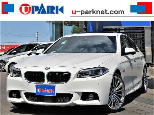 BMW アクティブハイブリッド5 Mスポーツ 後期・黒革・SR・ACC・インテリS・20AW・LEDライト・NewiDriveナビ・Bカメラ・DTV・シートヒーター・Cソナー・スマキー・パドルシフト・パドルシフト・LDW・記録簿