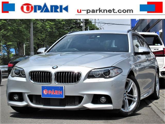 BMW 5シリーズ 523dツーリング Mスポーツ 後期・ACC・インテリS・NewiDriveナビ・Bカメラ・DTV・Cソナー・HIDライト・ETC・パドルシフト・スマキー・18AW・アイドリングストップ・LDW・BTオーディオ・記録簿