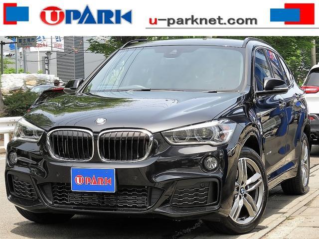 BMW sDrive 18i Mスポーツ インテリS・NewiDriveナビ・Bカメラ・LEDライト・Cソナー・スマキー・ETC・Pアシスト・LDW・18AW・BTオーディオ・AUX・USB・アイドリングストップ・本革ステア・記録簿