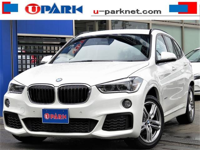 BMW X1 sDrive 18i Mスポーツ インテリS・NewiDriveナビ・Bカメラ・Cソナー・LDW・LEDライト・スマキー・ETC・18AW・BTオーディオ・AUX・USB・Pアシスト・アイドリングストップ・オートワイパー・記録簿