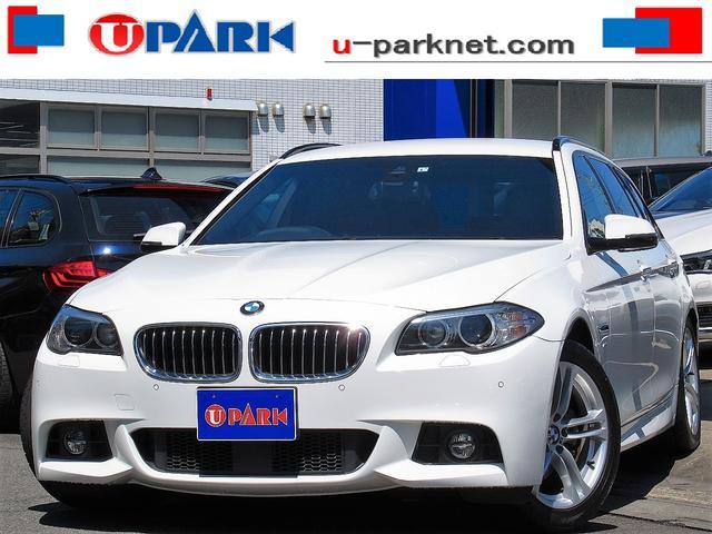 BMW 5シリーズ 523dツーリング Mスポーツ インテリS・1オーナー・ACC・NewiDriveナビ・Bカメラ・DTV・Cソナー・Pバックドア・LDW・スマキー・HIDライト・パドルシフト・18AW・BTオーディオ・AUX・USB・記録簿
