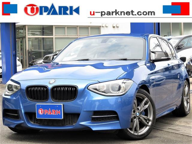 BMW M135i 黒革・iDriveナビ・Bカメラ・Cソナー・HIDライト・スマキー・パドルシフト・Mサスペンション・Mスポーツキャリパー・専用18AW・シートヒーター・ETC・アイドリングストップ・BTオーディオ