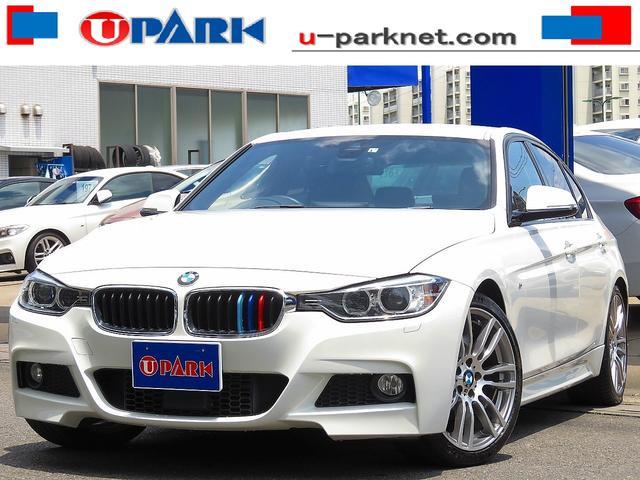 BMW 320d Mスポーツ インテリS・ACC・OP19AW・NewiDriveナビ・Bカメラ・Cソナー・スマキー・パドルシフト・HIDライト・LDW・Pシート・アイドリングストップ・BTオーディオ・AUX・USB・記憶簿
