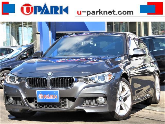 BMW 320d Mスポーツ iDriveナビBカメラ・Cソナー・HIDライト・18AW・パドルシフト・スマキー・Pシート・アイドリングストップ・BTオーディオ・USB・ドアバイザー・オートワイパー・ミラーウィンカー・記録簿
