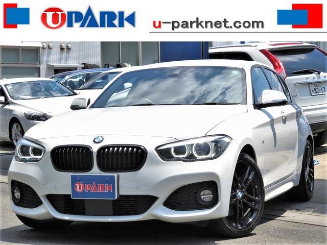 BMW 1シリーズ 118d Mスポーツ エディションシャドー 後期・インテリS・ACC・茶革・タッチパネルNewiDriveナビ・Bカメラ・Cソナー・LEDライト・ETC・Pアシスト・18AW・BTオーディオ・USB・スマキー・LDW・オートワイパー・記録簿