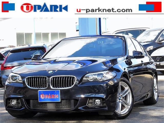 BMW 523d Mスポーツ 弊社ユーザー様下取り車・後期・SR・ACC・インテリS・BSM・NewiDriveナビ・Bカメラ・Cソナー・HIDライト・スマキー・パドルシフト・ETC・18AW・BTオーディオ・USB・記録簿