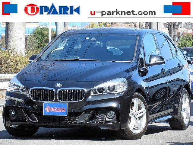 BMW 218iアクティブツアラー Mスポーツ ACC・HUD・インテリS・NewiDriveナビ・Bカメラ・Cソナー・LEDライト・オートライト・ETC・キーレス・アイドリングストップ・オートワイパー・BTオーディオ・AUX・USB・記録簿