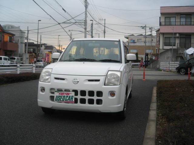 日産 ピノ E電動格納ミラー・キーレス・CD (車検整備付)