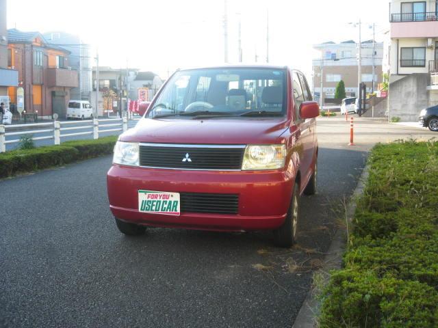 三菱 eKワゴン G・アルミ・CD・電動格納ミラー (車検整備付)