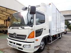 レンジャー低温冷凍車 ワイド エアサス パワーゲート 積載2.35t