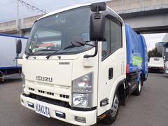 エルフトラックプレスパッカー 4.2立米 積載2t CNG車