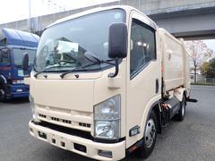 エルフトラック巻込みパッカー 5.1立米 積載2.6t CNG車