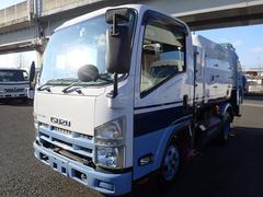 エルフトラック巻込みパッカー 4.3立米 積載2t CNG車