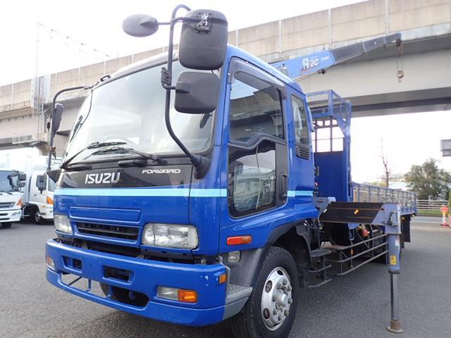 いすゞ 2.9t吊4段クレーン 積載7.1t
