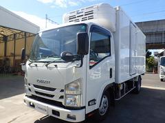 エルフトラック低温冷凍車 フルフラットローロング 積載3t