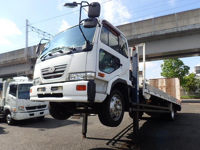 UDトラックス セルフローダー 積載7.6t