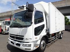 ファイター低温冷凍車 エアサス パワーゲート 積載6.4t