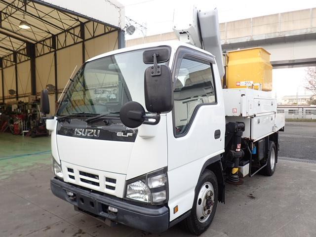 いすゞ 高所作業車 アイチ 9.7m 電工仕様 4WD