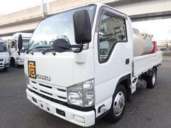 エルフトラックタンク車 フルフラットロー 4WD