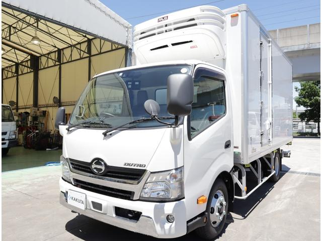 日野 低温冷凍車 高床ワイドロング パワーゲート 積載3t