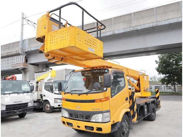 日野 高所作業車 タダノ 17m