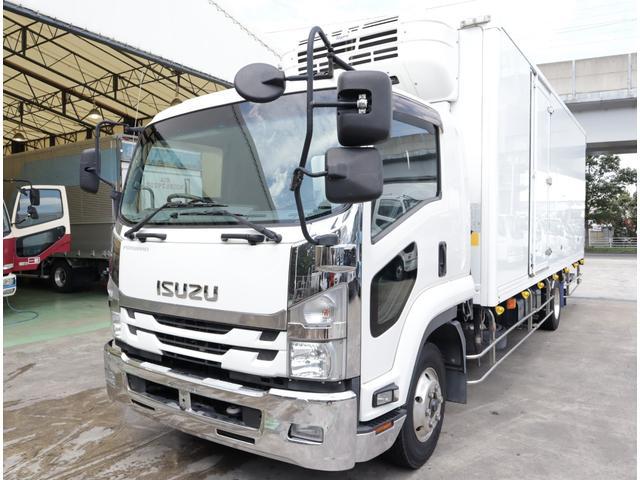 いすゞ 低温冷凍車 パワーゲート 積載2.7t
