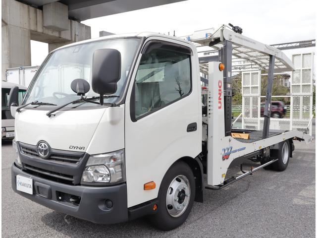 トヨタ 2台積みキャリアカー 積載3.35t