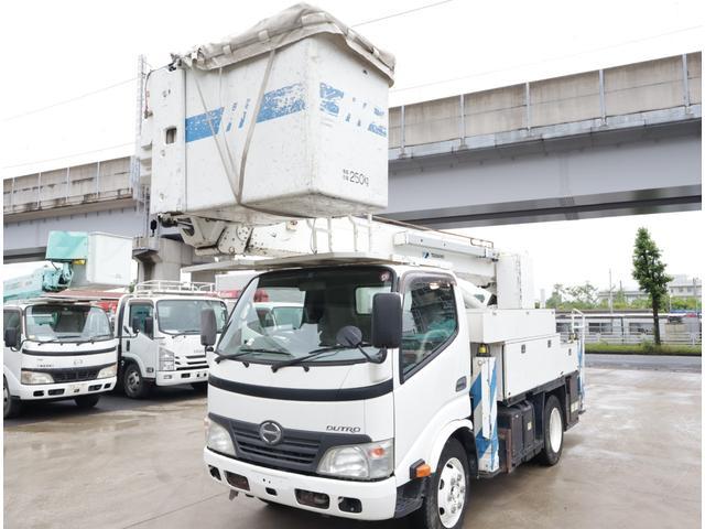 日野 高所作業車 タダノ 15.1m 電工仕様