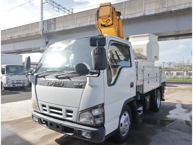 エルフトラック 高所作業車 タダノ 9.9m 電工仕様